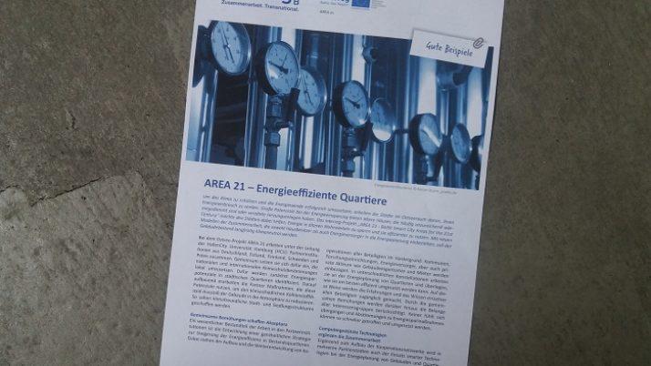 Das BBSR berichtet über Area 21