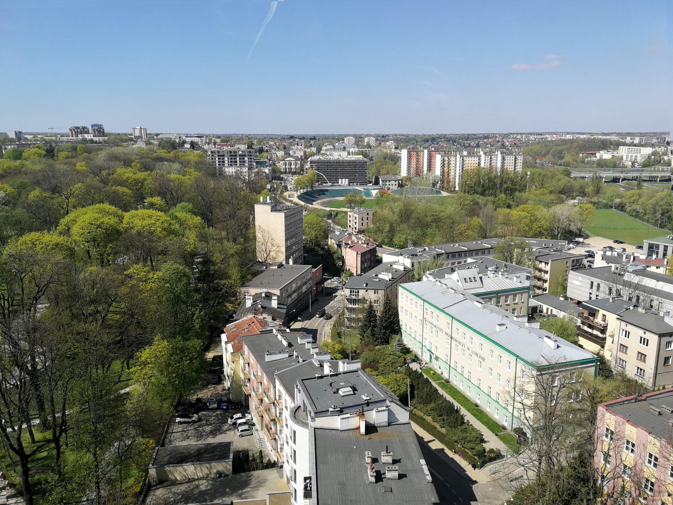 Blick von oben auf den Energy Improvement District Lublin, Polen (© Wojciech Kutnik, AREA 21)